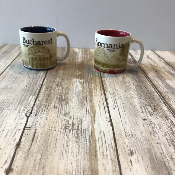 Starbucks Romania & Bucharest espresso cups